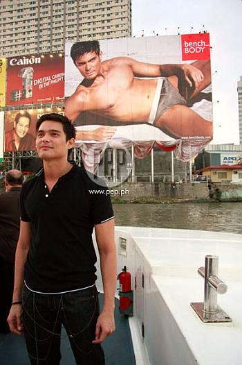 dingdong dantes underwear model - bench