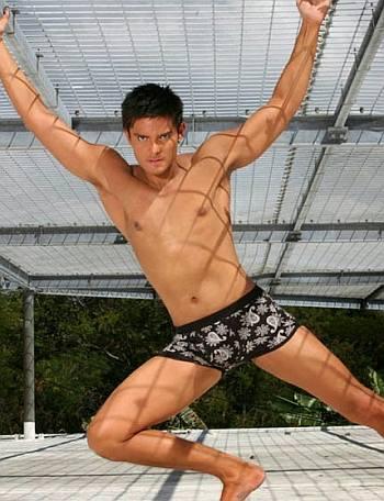 dingdong dantes underwear model - bench2