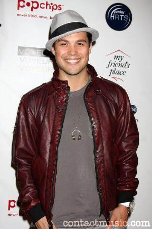 michael copon leather jacket and fedora hat