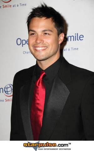 hot michael copon suit and tie