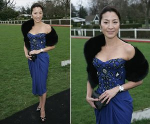 michelle yeoh red carpet dresses christian dior