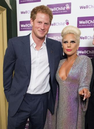 prince harry gay with lady gaga