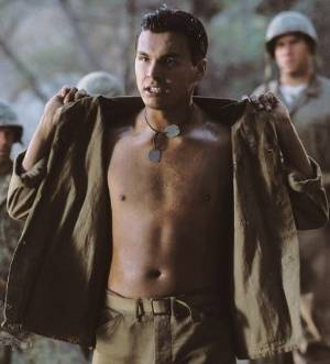 adam beach shirtless in windtalkers