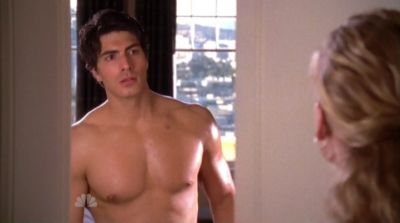 brandon routh shirtless hot body