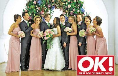 tom fletcher wedding photos