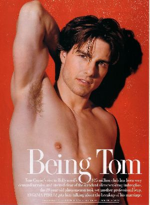 tom cruise shirtless vanity fair