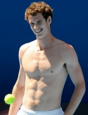 andy murray muscles