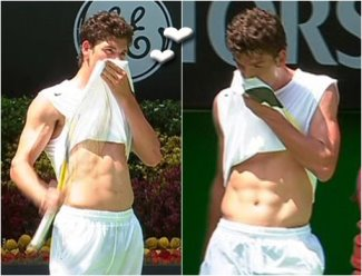 Frank Dancevic shirtless