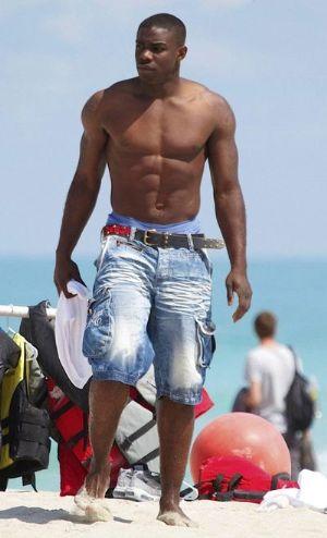 micah richards beach shorts