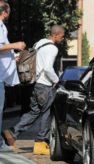 nick cannon fashion style boots