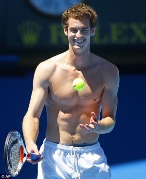 andy murray muscles shirtless