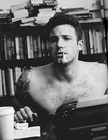 ben affleck smoking hot