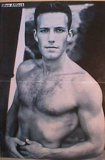 ben affleck young pinup boy