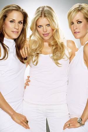dixie chicks fashion all white
