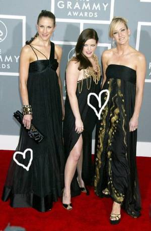 dixie chicks fashion red carpet