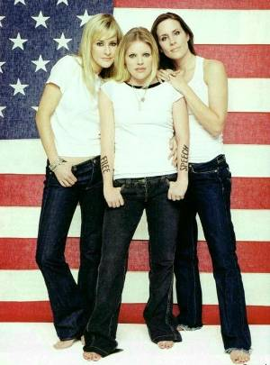 dixie chicks fashion jeans and shirt