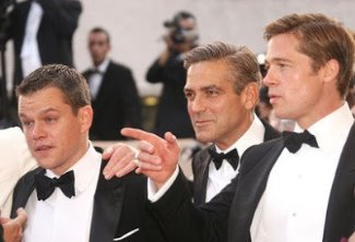 george clooney gay with brad and matt