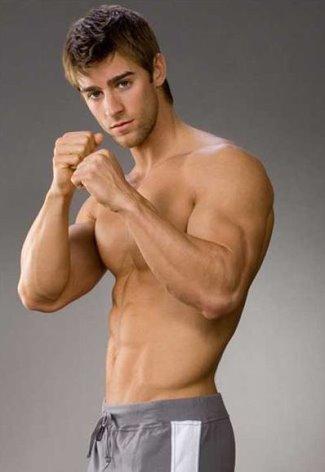 luke guldan shirtless hot body