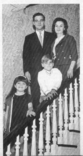 nick clooney family