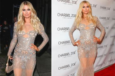 paris hilton see through dress by charbel zoe2