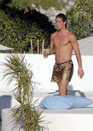 hot wet men sergio ramos beach shorts