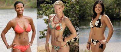 survivor bikini girls - cbs
