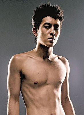 Edison Chen shirtless