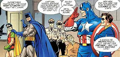 batman and robin gay with captain america
