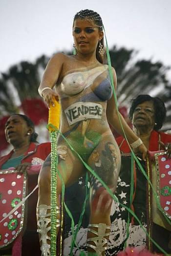 brazil nude carnival queen vivianecastro