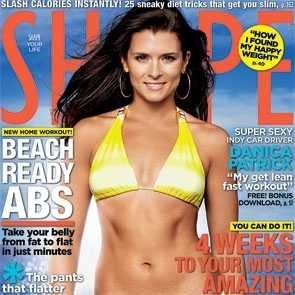 danica patrick bikini swimwear shape magazine