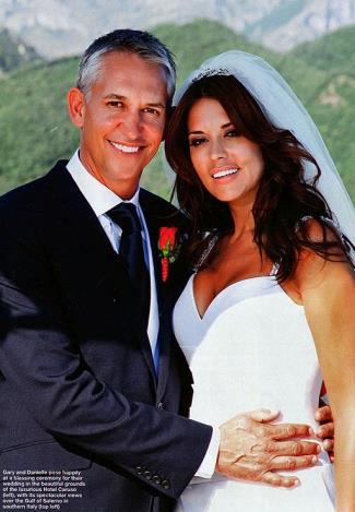 danielle bux gary lineker wedding photos3