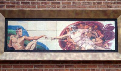 george clooney mural gods gift to wemen