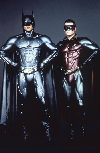 is batman gay - george clooney and chris o donnell in batman and robin