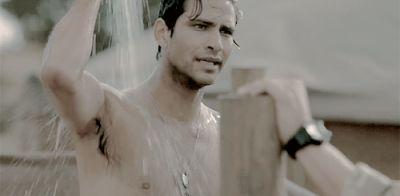 luke pasqualino hot in shower