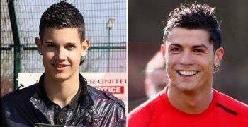 Aldin Ahmetovic Cristiano Ronaldo lookalike