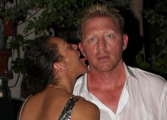 Boris Becker Lilly Kerssenberg ear licking