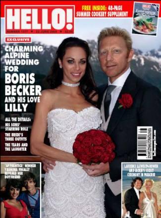 Boris Becker Lilly Kerssenberg wedding photos