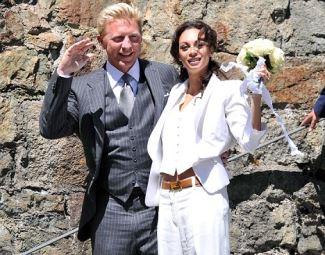 Boris Becker wedding to Lilly Kerssenberg