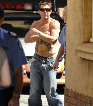ben cousins shirtless rugby player