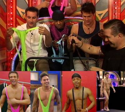celebrity mankini - famous men wearing mankini - celebrity big brother2