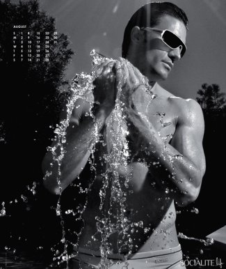 gilles marini shirtless calendar