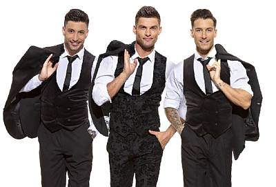 here come the boys tour - Aljaž Škorjanec, Giovanni Pernice, and Gorka Marquez