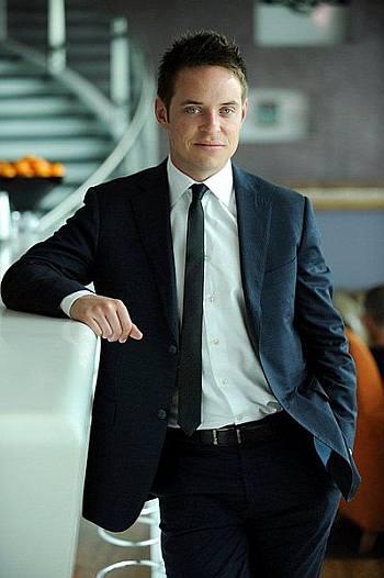 howard ebison hot guy in suit