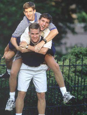 peyton manning football family