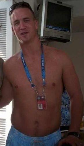 peyton manning shirtless football quarterback