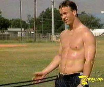 peyton manning shirtless