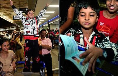 Ayush Mahesh Khedekar slumdog kids update