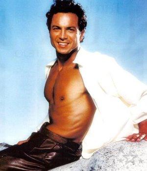 Benjamin Bratt shirtless