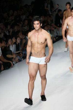 asian male underwear models - chaiwat thongsaeng