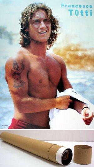 Francesco Totti shirtless body